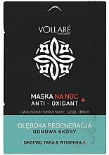 Parfumuri și produse cosmetice Mască regenerantă de noapte pentru față - Vollare Anti-Oxidant Sleeping Mask