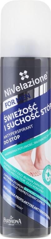 Deodorant pentru picioare - Farmona Nivelazione For Men Feet Antiperspirant — фото N1
