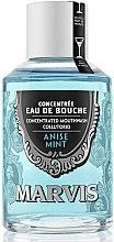 """Parfumuri și produse cosmetice Agent de clătire pentru cavitatea bucală """"Anason și mentă"""" - Marvis Concentrate Anise Mint Mouthwash"""