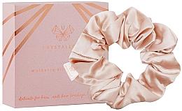 Parfumuri și produse cosmetice Elastic din mătase pentru păr, aurie - Crystallove