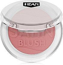 Parfumuri și produse cosmetice Fard de obraz - Hean Satin Blush