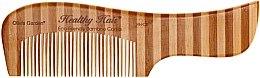 Parfumuri și produse cosmetice Pieptene de bambus, 2 - Olivia Garden Healthy Hair Eco-Friendly Bamboo Comb 2