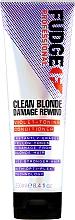 Parfumuri și produse cosmetice Balsam de păr - Fudge Clean Blonde Damage Rewind Conditioner