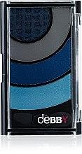 Parfumuri și produse cosmetice Fard de pleoape - Debby Colorcase Quad