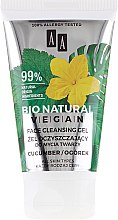 Parfumuri și produse cosmetice Gel de față - AA Cosmetics Bio Natural Vegan Face Cleansing Gel