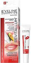 Parfumuri și produse cosmetice Ser pentru buze - Eveline Cosmetics Lip Therapy Professional Awocado Intensive Lip Serum