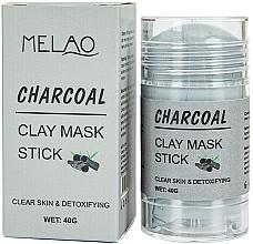 """Parfumuri și produse cosmetice Mască-stick pentru față """"Charcoal"""" - Melao Charcoal Clay Mask Stick"""