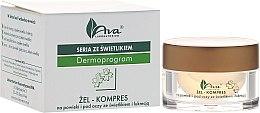 Parfumuri și produse cosmetice Gel pentru zona din jurul ochilor - Ava Laboratorium Dermoprogram Gel-Compress On The Eyelids And Under The Eyes