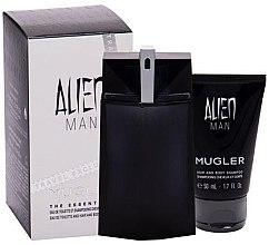 Parfumuri și produse cosmetice Mugler Alien Man - Set (edt/100ml+sh/gel/50ml)