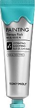 Parfumuri și produse cosmetice Mască de față - Tony Moly Painting Therapy Pack Hydrating & Calming