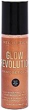Parfumuri și produse cosmetice Iluminator pentru față și corp - Makeup Revolution Glow Revolution Prime Set Glow