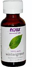 Parfumuri și produse cosmetice Ulei esențial de Pyrola - Now Foods Essential Oils 100% Pure Wintergreen