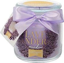 Parfumuri și produse cosmetice Lumânare aromată, 10x11 cm, 360g - Artman Lavender Meadow