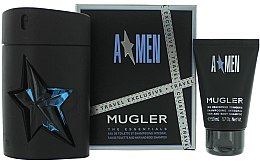 Parfumuri și produse cosmetice Thierry Mugler A Men - Set (edt/100 + sh/g/50)