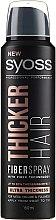 Parfumuri și produse cosmetice Spray pe bază de tehnologia Fiber pentru păr - Syoss Thicker Hair Spray