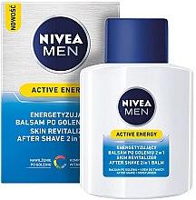 Parfumuri și produse cosmetice Balsam după ras revitalizant - Nivea For Men Active Energy Skin Revitalizer After Shave Balm