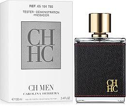Parfumuri și produse cosmetice Carolina Herrera CH Men - Apă de toaletă (tester cu capac)