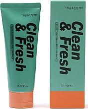 Parfumuri și produse cosmetice Spumă de curățare cu efect de strângere a porilor - Eunyul Clean & Fresh Pore Tightening Foam Cleanser