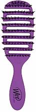 Parfumuri și produse cosmetice Perie de păr, mov - Wet Brush Pro Flex Dry Shine Enhancer Purple