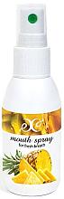 """Parfumuri și produse cosmetice Spray pentru cavitatea bucală """"Ananas"""" - Hristina Cosmetics Pineapple Mouth Spray"""