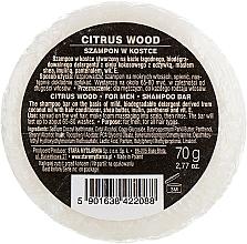 Parfumuri și produse cosmetice Шампунь твердый для мужчин - Stara Mydlarnia Citrus Wood Shampoo Bar For Men (сменный блок)