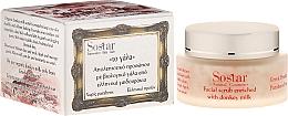 Parfumuri și produse cosmetice Peeling hidratant pentru față - Sostar Face Moisturizing Peeling with Donkey Milk
