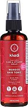 Parfumuri și produse cosmetice Tonic pe bază de plante ayurvedice medicinale pentru păr - Khadi Wonder Hair Tonic