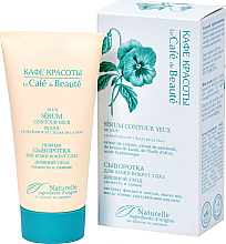 """Parfumuri și produse cosmetice Ser delicat de zi pentru pielea din jurul ochilor """"Prospețime și strălucire"""" - Le Cafe de Beaute Eye Serum"""