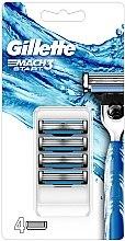 Parfumuri și produse cosmetice Casete de rezervă pentru aparat de ras - Gillette Mach3 Start Razor Blades