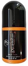 Parfumuri și produse cosmetice Coty Ex'cla-ma'tion Wild Musk Anti-Transpirant Roll-On - Deodorant