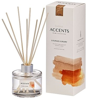 "Difuzor de aromă ""Buchet floral luxuriant, chihlimbar relaxant"" - Bolsius Fragrance Diffuser Lounge Luxury"