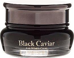 Parfumuri și produse cosmetice Cremă de față cu extract de caviar negru - Holika Holika Black Caviar Anti-Wrinkle Cream