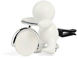 Parfumuri și produse cosmetice Mr&Mrs Fragrance Gino White Fresh Air - Aromatizator auto