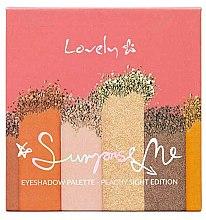 Parfumuri și produse cosmetice Paletă farduri de ochi - Lovely Surprise Me Eyeshadow Palette Peachy Sight Edition