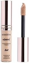 Parfumuri și produse cosmetice Concealer pentru față - TopFace Sensitive Mineral 3 in 1 Concealer