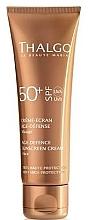 Parfumuri și produse cosmetice Cremă anti-îmbătrânire de protecție solară pentru față - Thalgo Age Defence Sunscreen Cream SPF 50