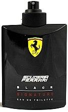 Parfumuri și produse cosmetice Ferrari Scuderia Ferrari Black Signature - Apă de toaletă (tester fără capac)