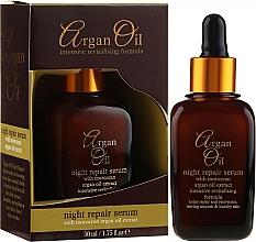 Parfumuri și produse cosmetice Ser regenerator de noapte pentru față - Xpel Argan Oil Night Repair Serum
