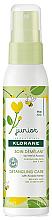 Parfumuri și produse cosmetice Spray pentru păr - KloraneJunior Detangling Care Spray Acacia Honey