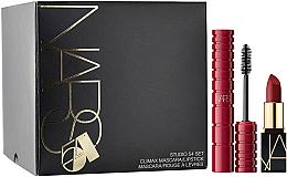 Parfumuri și produse cosmetice Set - Nars Studio 54 Set (mascara/6ml + lipstick/1.6g)