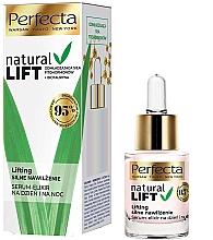 Parfumuri și produse cosmetice Ser-elixir hidratant pentru față - Perfecta Natural Lift Moisturizing Serum-elixir