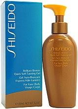 Parfumuri și produse cosmetice Autobronzant pentru față și corp - Shiseido Brilliant Bronze Quick Self Tanning Gel