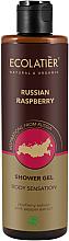 """Parfumuri și produse cosmetice Gel de duș """"Zmeură"""" - Ecolatier Russian Raspberry Shower Gel"""