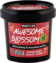 Parfumuri și produse cosmetice Scrub cremos pentru corp - Beauty Jar Awesome Blossom Spring Body Creamy Scrub