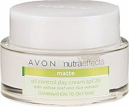 Parfumuri și produse cosmetice Cremă matifiantă de zi - Avon Nutra Effects Matte SPF 20