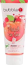 Parfumuri și produse cosmetice Gel de duș - Bubble T Peach Ice Tea Shower Gel