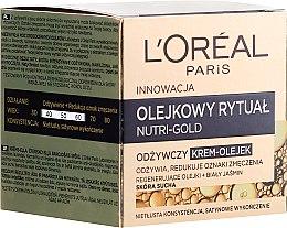 Parfumuri și produse cosmetice Cremă-ulei pentru piele uscată - L'Oreal Paris Nutri Gold Cream-Oil