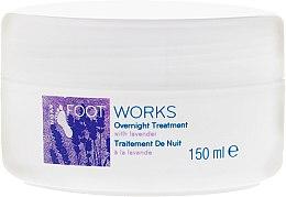 Parfumuri și produse cosmetice Crema de noapte pentru picioare cu extract de levănțică - Avon Foot Works Overnight Tretment