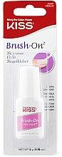 Parfumuri și produse cosmetice Adeziv pentru unghii false - Kiss Brush-On Glue
