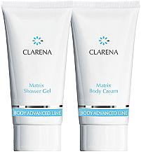 Parfumuri și produse cosmetice Set - Clarena Matrix Clarena (sh/gel/30ml + body/chr/30ml)